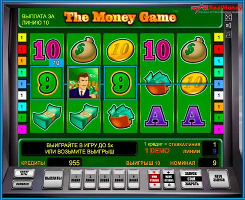 Игровой автоматThe Money Game в онлайн клубе Вулкан